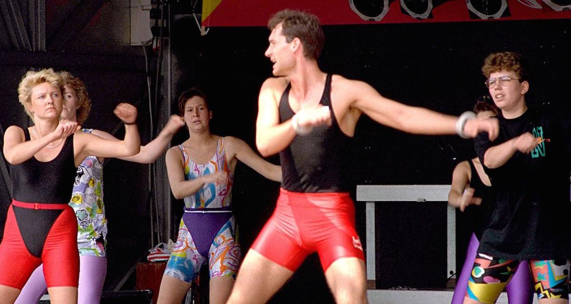 Jahren '80 Sportliche Kleidung